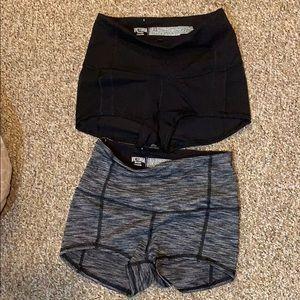 Victoria's Secret sport high waist bike shorts